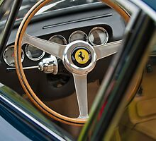 1964 Ferrari Steering Wheel by Jill Reger