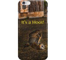 It's a Hoot! (IPhone case) iPhone Case/Skin