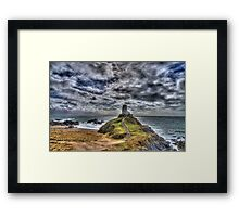 Llanddwyn Island - Light house Framed Print