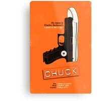 Chuck Metal Print