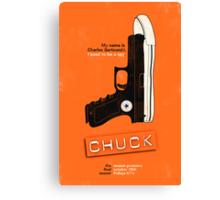 Chuck Canvas Print