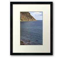 Two on a Beach Framed Print
