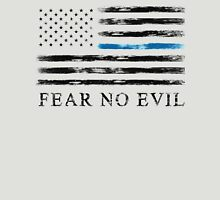 Blue Line - Fear No Evil (Black) Unisex T-Shirt