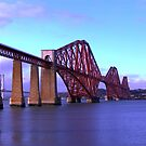 Forth Bridge Scotland by Ian Coyle