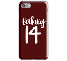 Isaac Lahey Lacrosse Number - Teen Wolf  iPhone Case/Skin