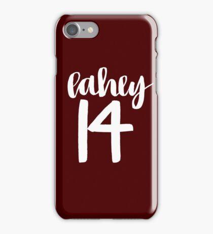 Isaac Lahey Lacrosse Number - Teen Wolf  iPhone Case/Skin