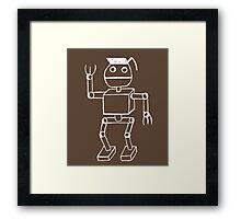 Robot Pothead Framed Print