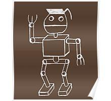 Robot Pothead Poster