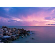 Sanibel Sunset Photographic Print
