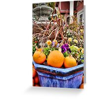 Fall Festival at Harvest I Greeting Card