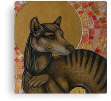 Extinction 1936 (The Thylacine) Canvas Print
