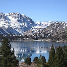 June Lake In March by marilyn diaz