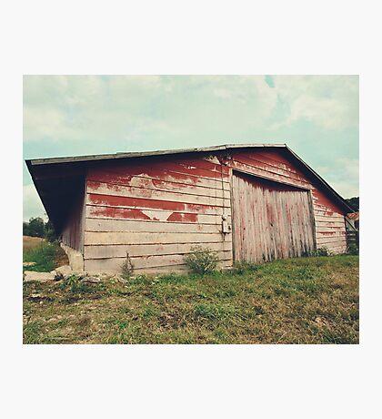 Chicken Barn Photographic Print