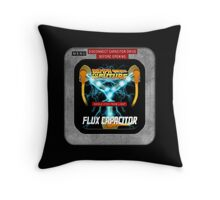 Flux Capacitor 88MPH to the future Throw Pillow
