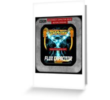 Flux Capacitor 88MPH to the future Greeting Card