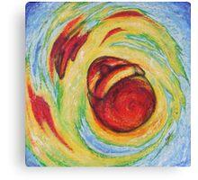 Whirled Destruction Canvas Print
