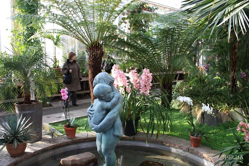 In the Palmhouse II by HELUA