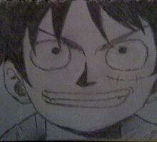 Monkey D Luffy by KinkyKeenan