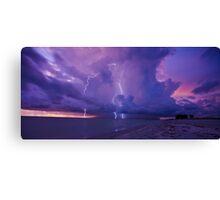 Lighting Storm Canvas Print