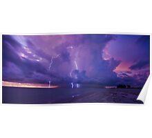 Lighting Storm Poster