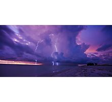 Lighting Storm Photographic Print