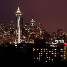Seattle - Skyline from Kerry Park by Kaitlin Kelly