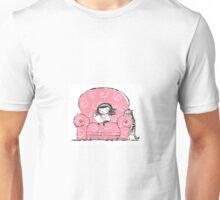 Smart Girl Reading Unisex T-Shirt