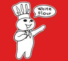 White Flour Kids Tee