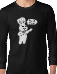 White Flour Long Sleeve T-Shirt