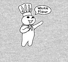 White Flour Unisex T-Shirt