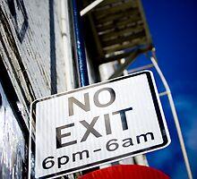 No Exit by dmorto