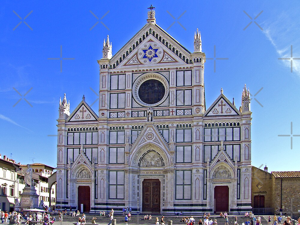 Santa Croce Church by Tom Gomez