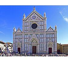 Santa Croce Church Photographic Print