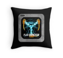 Flux Capacitor only Throw Pillow