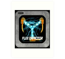 Flux Capacitor only Art Print