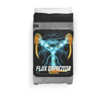 Flux Capacitor only Duvet Cover