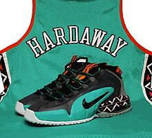 Penny Hardaway Throwback All-Star Jersey & Nikes by ColbyCo