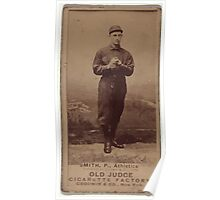 Benjamin K Edwards Collection Phenomenal Smith Philadelphia Athletics baseball card portrait Poster
