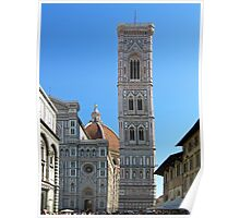 Campanile Tower and Duomo, Florence Poster