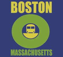 E TRAIN-BOSTON by OTIS PORRITT