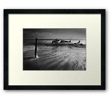 Dramatic SS Dicky Framed Print
