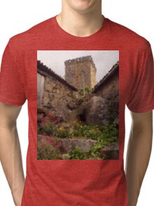 Medieval Tower Tri-blend T-Shirt