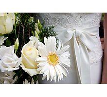 Dress & flowers Photographic Print