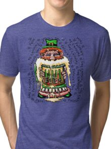 St Patrick's Day Beer Tri-blend T-Shirt
