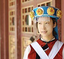 Chinese Naxi Girl 2 by barnabychambers