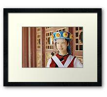 Chinese Naxi Girl 2 Framed Print