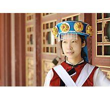 Chinese Naxi Girl 2 Photographic Print