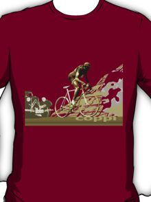 retro FAUSTO COPPI Tour de France cycling poster T-Shirt