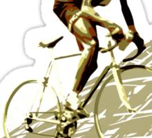 retro FAUSTO COPPI Tour de France cycling poster Sticker