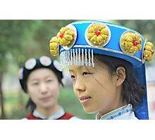 Chinese Naxi Girl 3 Photographic Print